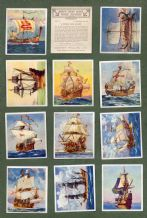 Collectable Cigarette cards Ships that have made history, Titanic, Queen Mary